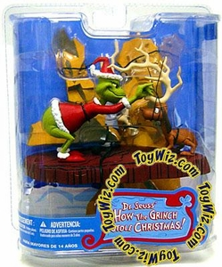 McFarlane Toys Dr. Seuss How the Grinch Stole Christmas Action Figure All I Need Is a Reindeer