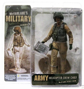 McFarlane Toys Military Soldiers Series 3 Action Figure Army Helicopter Crew Chief [Caucasian]
