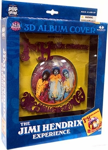McFarlane Toys Pop Culture Masterworks 3-D Album Cover Jimi Hendrix Are You Experienced?