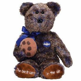 Ty Beanie Baby Midwest Airlines Exclusive Chocolate Chip the Bear