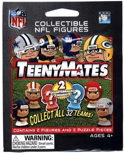 TeenyMates NFL Quarterbacks Series 1 Booster Pack