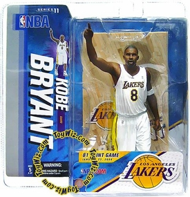 McFarlane Toys NBA Sports Picks Series 11 Action Figure Kobe Bryant (Los Angeles Lakers) White Jersey