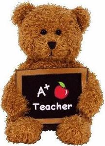 Ty Beanie Baby Cool Teacher the Bear