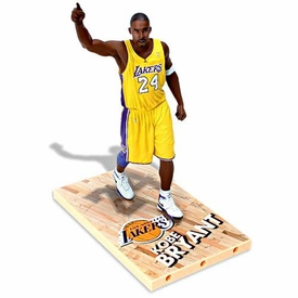 McFarlane Toys NBA Sports Picks Series 11 Action Figure Kobe Bryant (Los Angeles Lakers) Yellow Jersey Variant