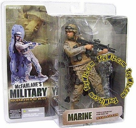 McFarlane Toys Military Soldiers Series 2 (2nd Tour of Duty) Action Figure Marine (*Random Ethnicity)
