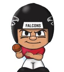 TeenyMates NFL Quarterbacks Series 1 Atlanta Falcons