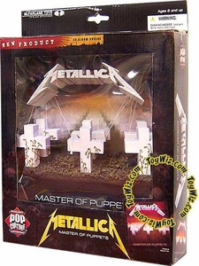 McFarlane Toys Pop Culture Masterworks 3-D Album Cover Metallica Master of Puppets