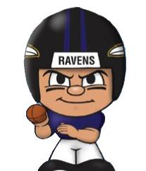TeenyMates NFL Quarterbacks Series 1 Baltimore Ravens
