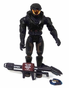 Halo Series 5 LOOSE Action Figure Black Spartan