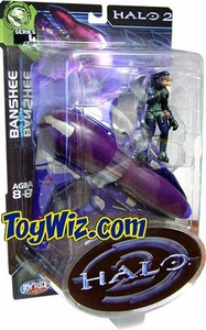 Halo 2 Action Figure Series 4 Banshee [Includes Elite Mini Figure]