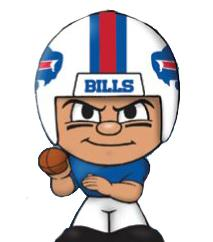 TeenyMates NFL Quarterbacks Series 1 Buffalo Bills