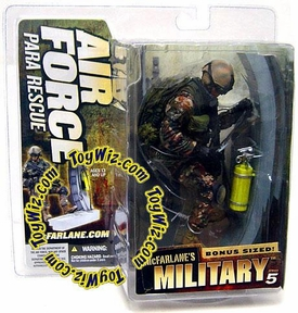 McFarlane Toys Military Soldiers Series 5 Action Figure Air Force Para Rescue (*Random Ethnicity)