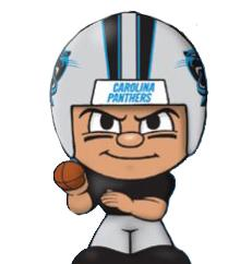 TeenyMates NFL Quarterbacks Series 1 Carolina Panthers