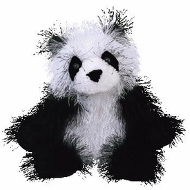 Ty Punkies Dominoes the Panda Bear