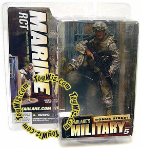 McFarlane Toys Military Soldiers Series 5 Action Figure Marine RCT (*Random Ethnicity)