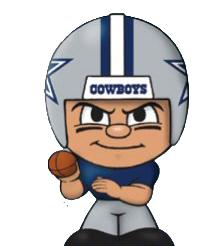 TeenyMates NFL Quarterbacks Series 1 Dallas Cowboys