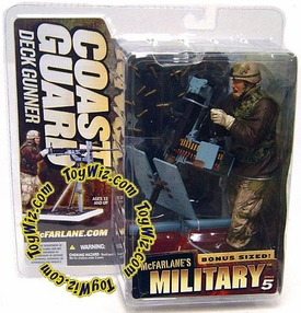 McFarlane Toys Military Soldiers Series 5 Action Figure Coast Guard Deck Gunner (*Random Ethnicity)