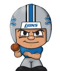 TeenyMates NFL Quarterbacks Series 1 Detroit Lions