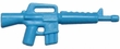 "BrickArms 2.5"" Scale LIGHT BLUE  Single Weapons, Helmets & Accessories"