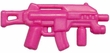 "BrickArms 2.5"" Scale PINK  Single Weapons, Helmets & Accessories"