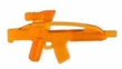 "BrickArms 2.5"" Scale TRANS ORANGE Single Weapons, Helmets & Accessories"