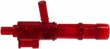 "BrickArms 2.5"" Scale TRANS RED Single Weapons, Helmets & Accessories"