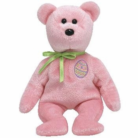 Ty Beanie Baby 2.0 Eggs 2008 the Pink Easter Bear