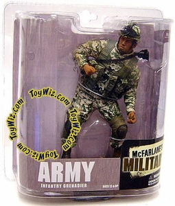 McFarlane Toys Military Soldiers Series 6 Action Figure Army Infantry Grenadier (*Random Ethnicity)