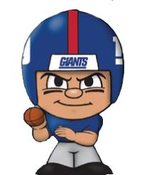 TeenyMates NFL Quarterbacks Series 1 New York Giants