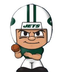 TeenyMates NFL Quarterbacks Series 1 New York Jets