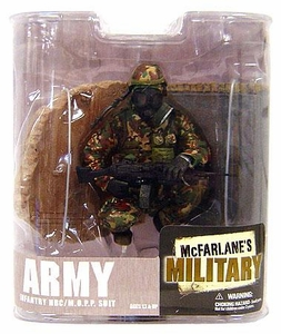 McFarlane Toys Military Soldiers Series 6 Action Figure Army Infantry M.O.P.P. Suit (*Random Ethnicity)