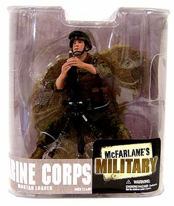 McFarlane Toys Military Soldiers Series 6 Action Figure Marine Mortar Loader (*Random Ethnicity)