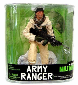 McFarlane Toys Military Soldiers Series 7 Action Figure Army Ranger Arctic Ops (*Random Ethnicity)