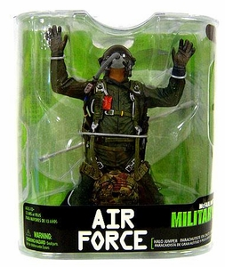 McFarlane Toys Military Soldiers Series 7 Action Figure Air Force Halo Jumper (*Random Ethnicity)
