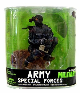 McFarlane Toys Military Soldiers Series 7 Action Figure Army Special Forces Night Ops (*Random Ethnicity)
