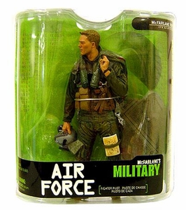 McFarlane Toys Military Soldiers Series 7 Action Figure Air Force Fighter Pilot (*Random Ethnicity)