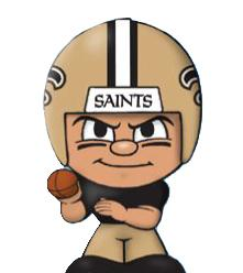 TeenyMates NFL Quarterbacks Series 1 New Orleans Saints