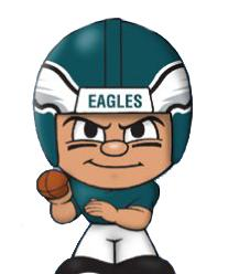 TeenyMates NFL Quarterbacks Series 1 Philadelphia Eagles