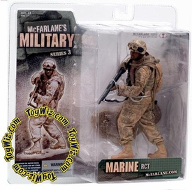 McFarlane Toys Military Soldiers Series 3 Action Figure Marine RCT (*Random Ethnicity)