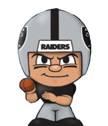 TeenyMates NFL Quarterbacks Series 1 Oakland Raiders