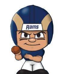 TeenyMates NFL Quarterbacks Series 1 St. Louis Rams