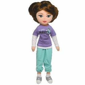Ty Girlz Plush Doll Exciting Emily