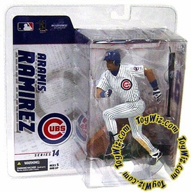 McFarlane Toys MLB Sports Picks Series 14 Exclusive Action Figure Aramis Ramirez (Chicago Cubs) White Jersey