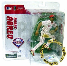 McFarlane Toys MLB Sports Picks Series 14 Exclusive Action Figure Bobby Abreu (Philadelphia Phillies) White Jersey
