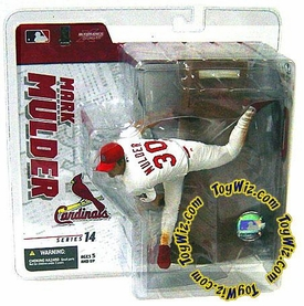 McFarlane Toys MLB Sports Picks Series 14 Exclusive Action Figure Mark Mulder (St. Louis Cardinals) White Jersey