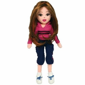 Ty Girlz Plush Doll Lucky Lindsay