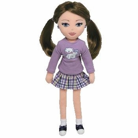 Ty Girlz Plush Doll Preppy Paige