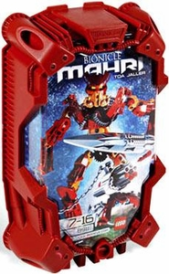 LEGO Bionicle Toa MAHRI Figure #8911 Jaller [Red]