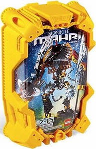 LEGO Bionicle Toa MAHRI Figure #8912 Hewkii [Yellow]