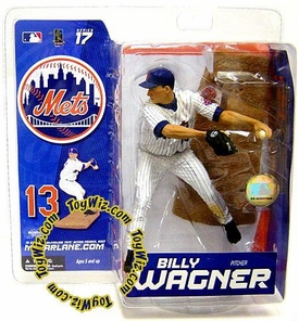 McFarlane Toys MLB Sports Picks Series 17 Exclusive Action Figure Billy Wagner (New York Mets)